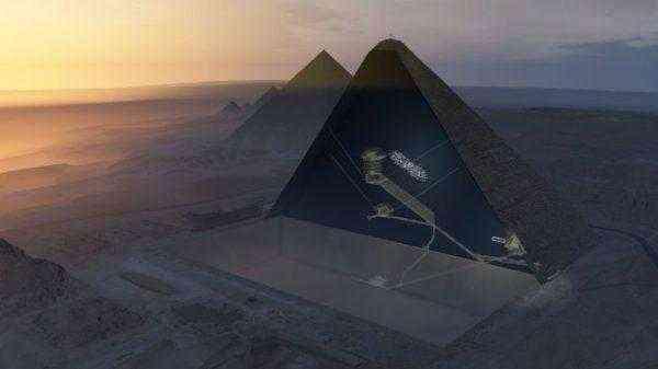 Новая тайна пирамиды Хеопса Загадка, которая может привести к созданию светового компьютера