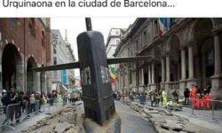 Каталонцы глумятся
